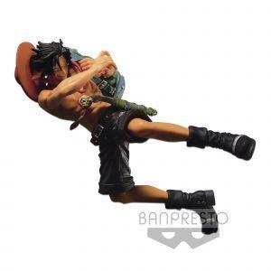 Figura One Piece - SCultures - Banpresto World Figure Colosseum - Portgas D Ace
