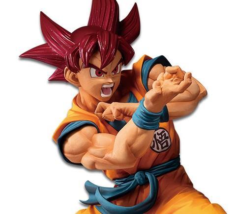 Figura Son Goku Super Saiyan God