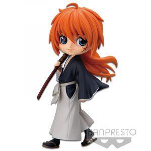 Figura Q Posket Kenshin Himura Ver. A de Rurouni Kenshin Meiji Swordsman Romantic Story